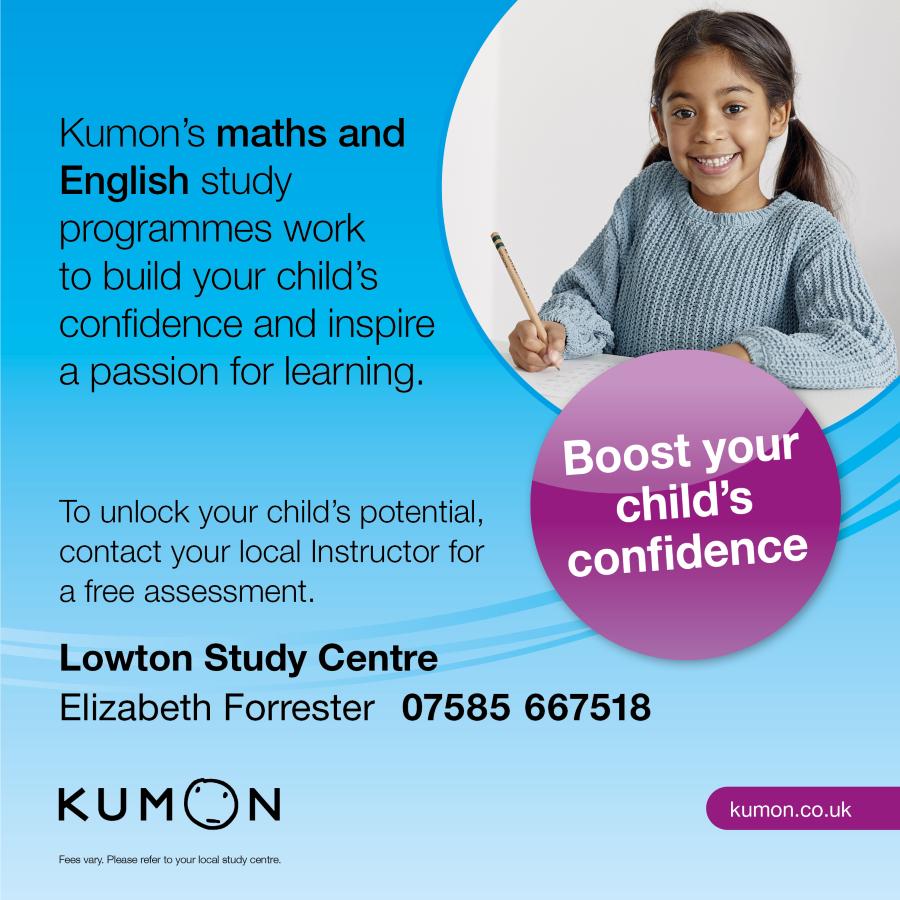 Kumon advert