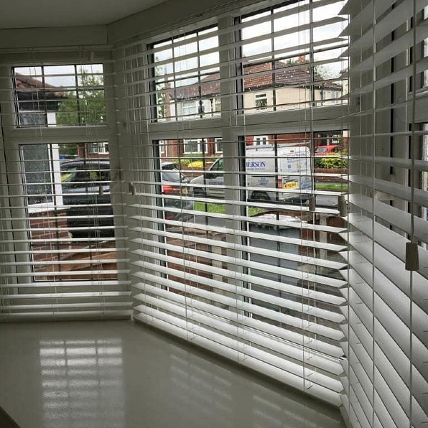 Venetian blinds by Grove Blind & Shutter Co.