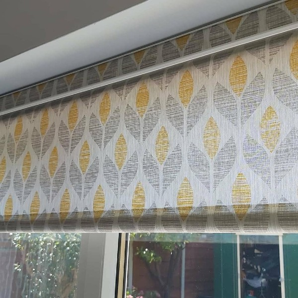 Roller blinds by Grove Blind & Shutter Co.