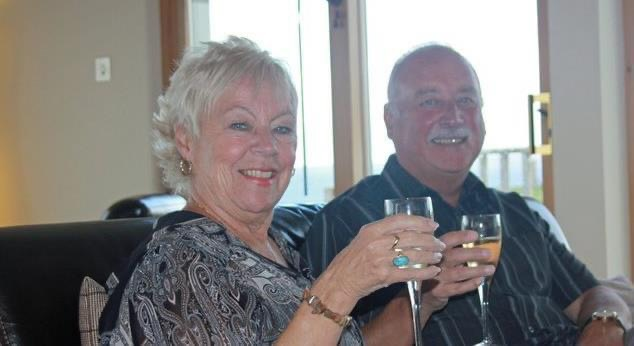 James and Rosita Lawlor from Lowton, who are celebrating their Diamond wedding anniversary