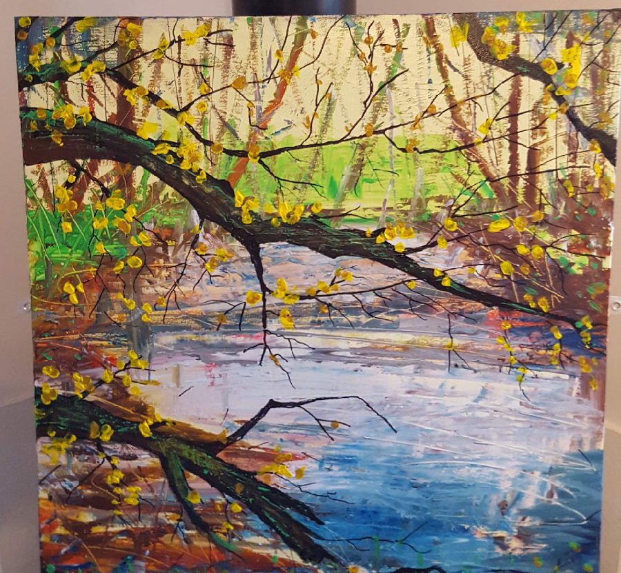 Painting by Lowton artist David Hoult