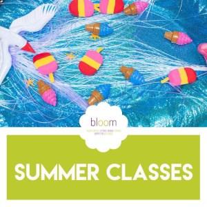 Baby Bloom Warrington summer class