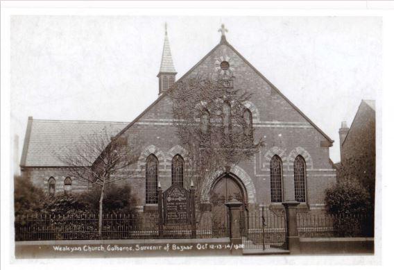 Heath Street Methodist Church in 1922