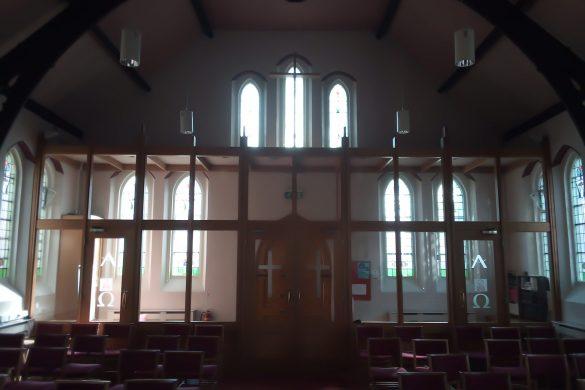 Heath Street Methodist Church current inside back