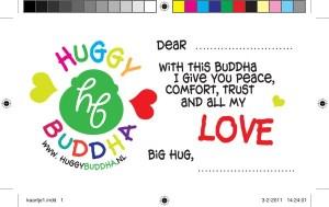 Huggy Buddha, huisstijl, nametag