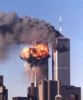 World Trade Center Burning