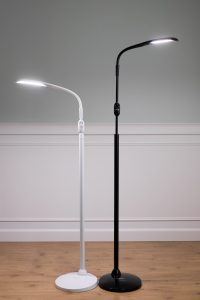 AdaptiVision Low Vision Lighting featuring the Stella Two Low Vision Floor Lamp from AdaptiVision