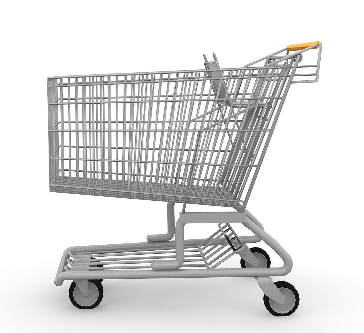 Shopping cart reference for social distancing