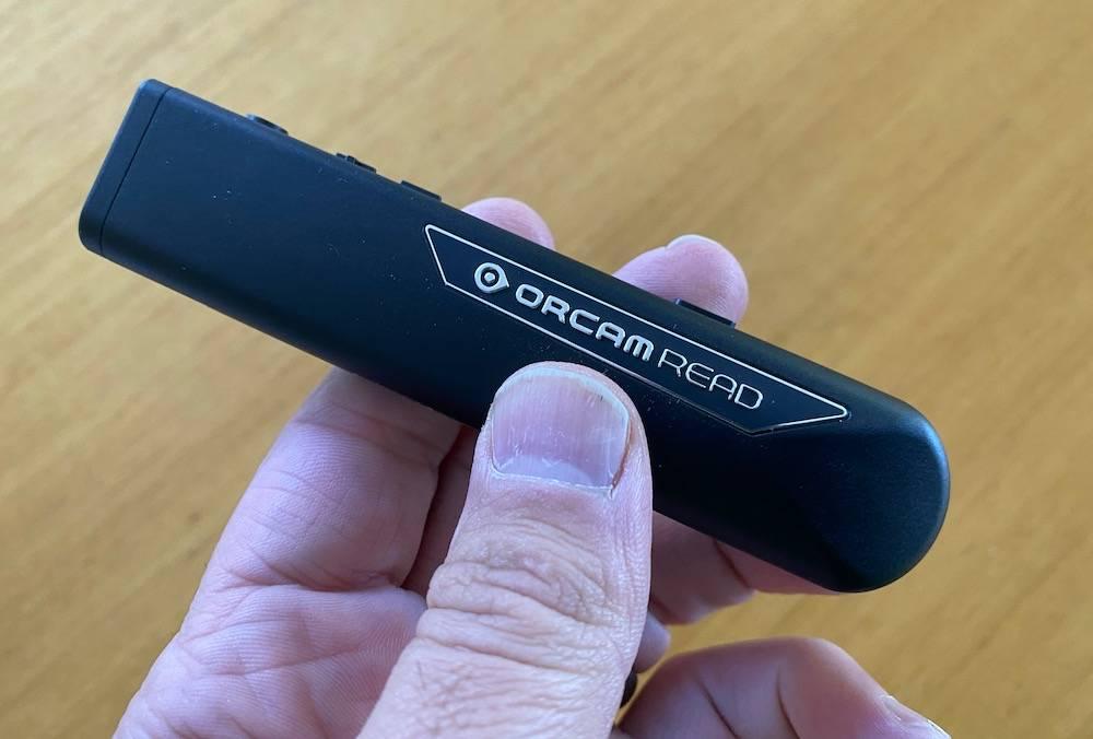 orcam reader pen
