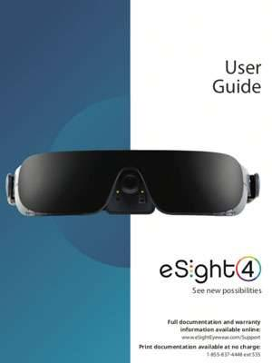 eSight 4 User Guide