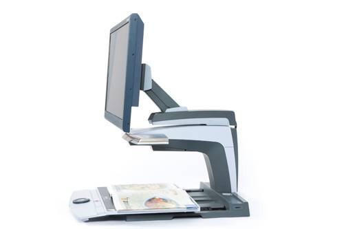 ClearView + 22HD Standard Arm (example of an assistive technology device for low vision)