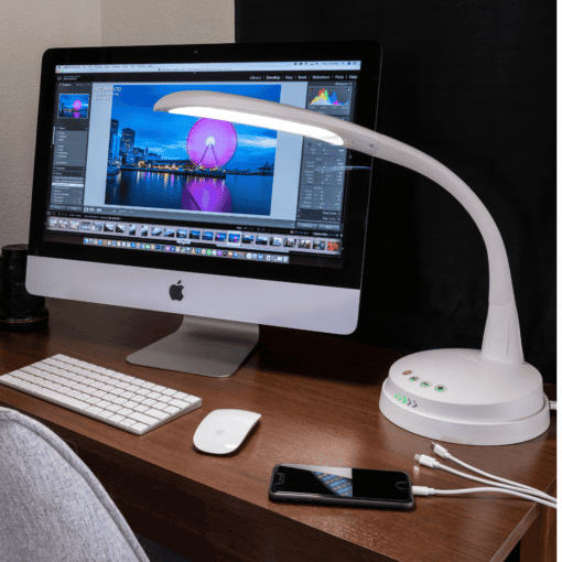 Stella GO Desk lamp with wireless charger