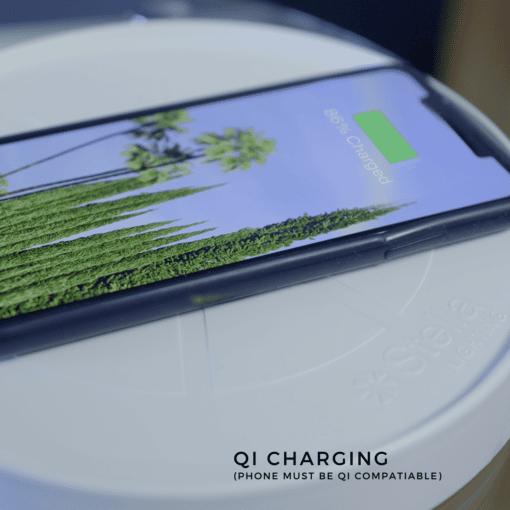 Stella GO Qi wireless charging technology