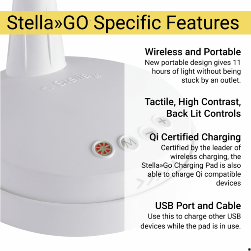 Stella GO Specific Features