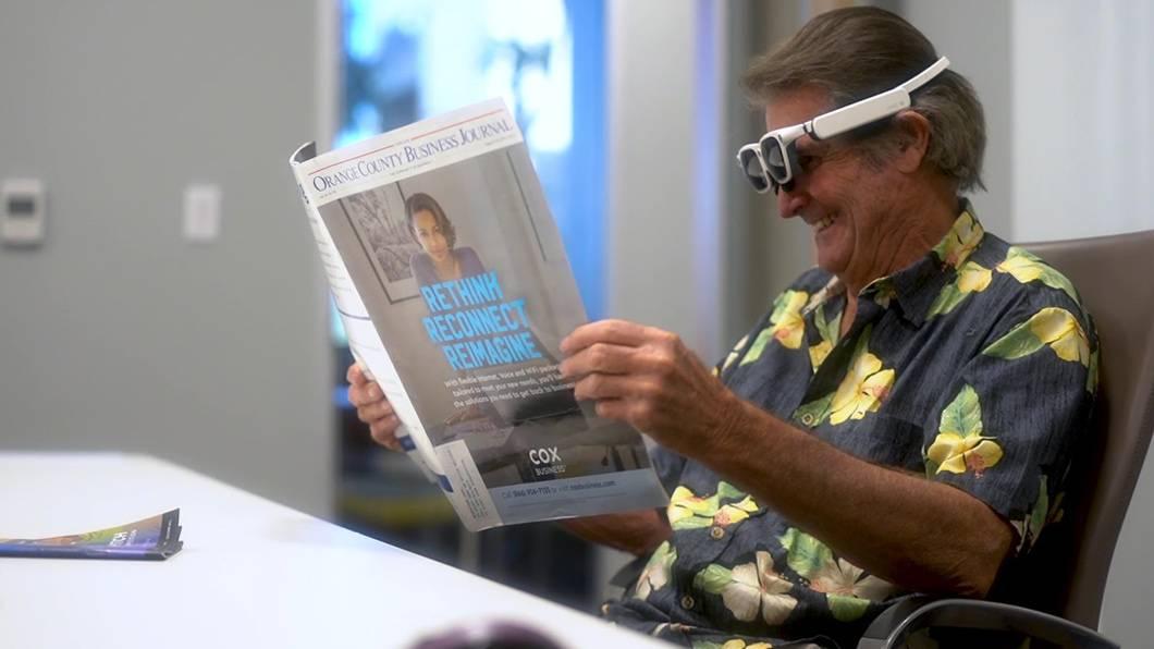 Glasses for macular degeneration - EYE3