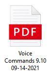 OrCam MyEye PRO Voice Commands Download