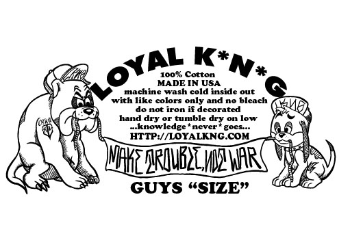 "Loyal K.N.G. 1st T-Shirt Release ""Jack The Warrior!"" In"