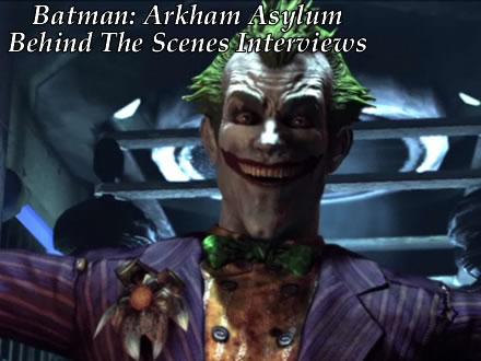 Batman Arkham Asylum Behind The Scenes Of Arkham Asylum