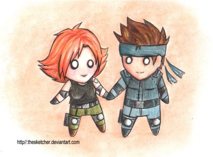 metal_gear_solid__snakexmeryl_by_thesketcher