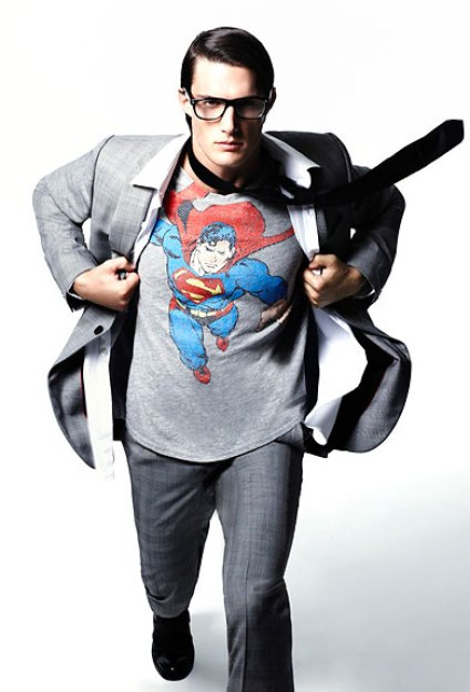 Nerdy Fashionistas DC Marvel Superman