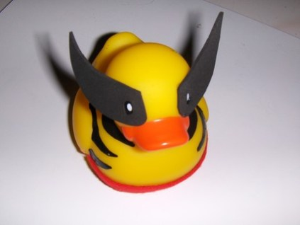 X-men Classic Wolverine Rubber Duck