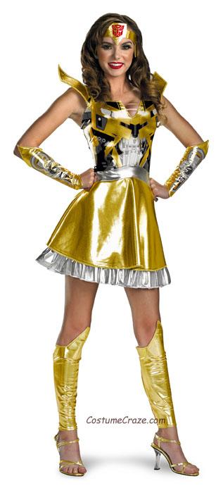 Teenage bumble bee costume