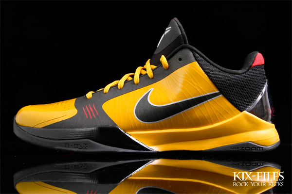 """new style 52399 be123 Nike Zoom Kobe V """"Bruce Lee"""" Enter The Dragon & Yellow Jump ..."""