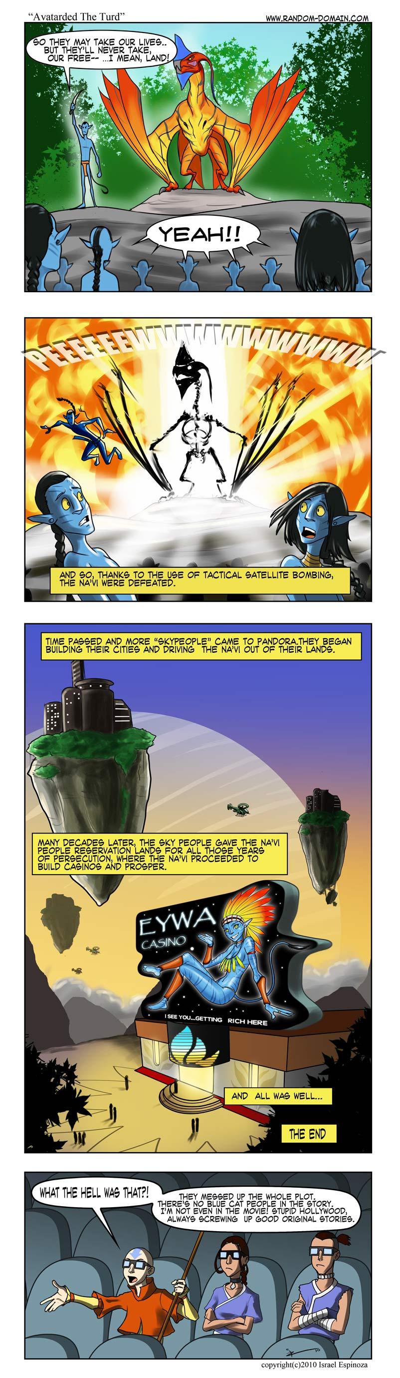 Avatarded The Turd by IZRA from Random-Domain! When Avatar