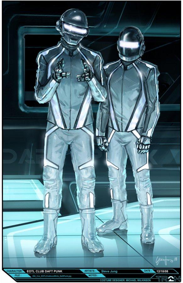 I ... & Steve Jungu0027s (Wazabi) Tron Legacy Daft Punk Costume Design!