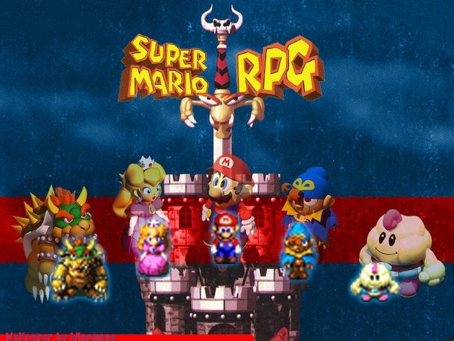 super mario rpg legend of the seven stars Game Exchange VS Kirbopher!