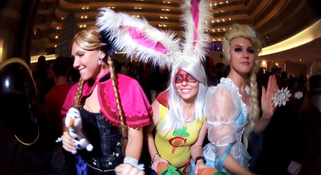 DragonCon 2014 DaftPunk Dance Party 2_00012