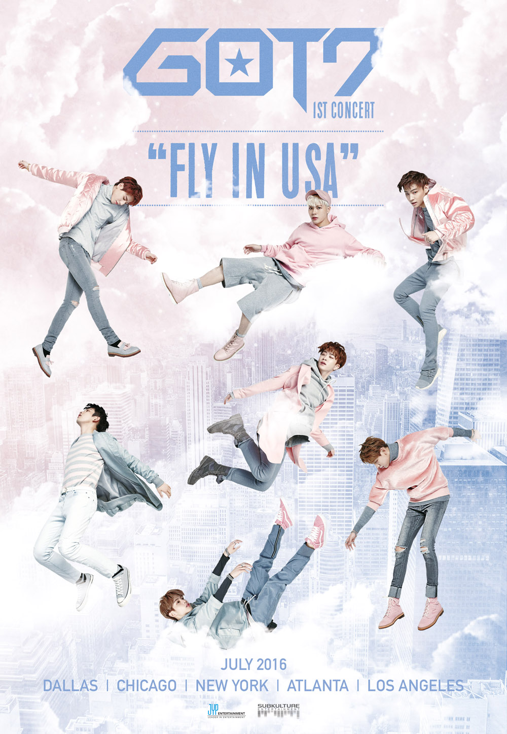 GOT7 Korea FLYinUSA_Graphic