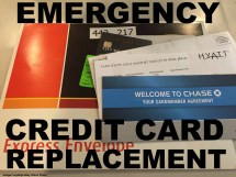Traveling And Emergency Credit Card - Case Chase