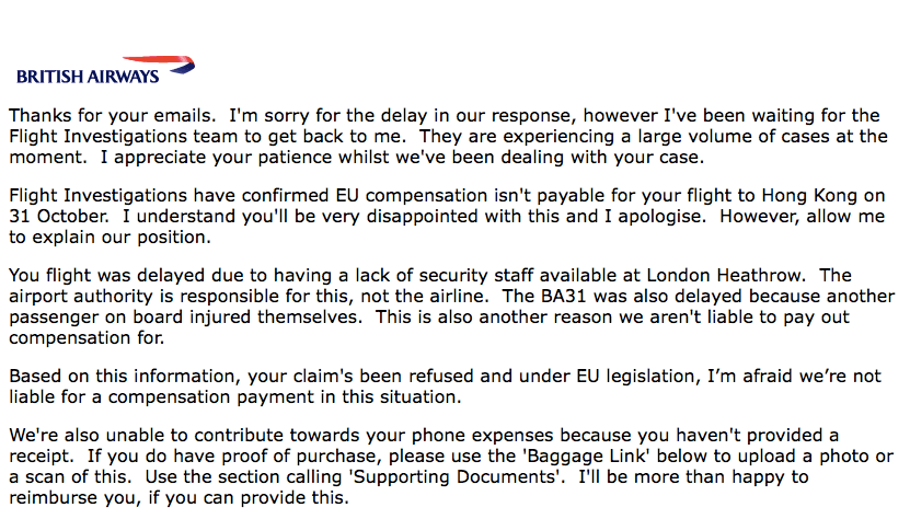 How To Resolve Compensation Disputes With British Airways In the UK - Regulator Complaint & CEDR Ombudsman Mediation   LoyaltyLobby