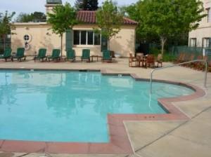 Hyatt Vineyard Creek pool, Santa Rosa, California