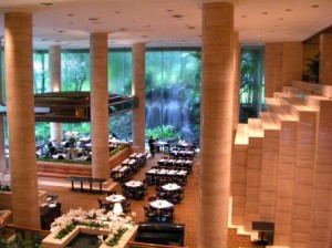 Sheraton Towers Singapore, lobby