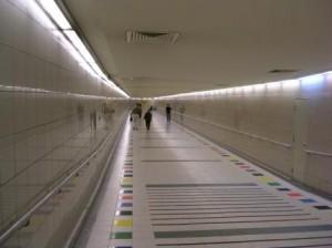 Singapore Pedestrian tunnel