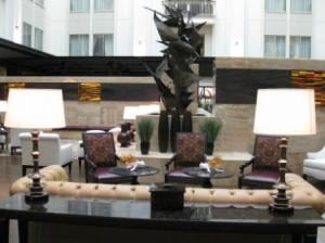 The Nines lobby