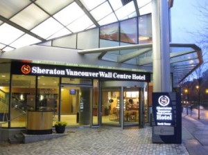 Vancouver Sheraton Wall Centre North Tower Entrance