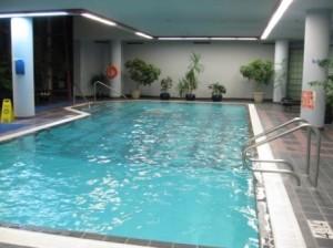 Vancouver Sheraton Wall Centre pool