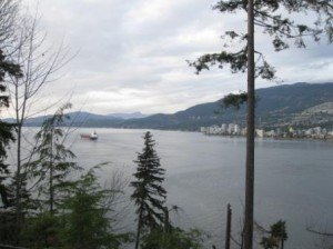 View from Stanley Park, Vancouver, British Columbia