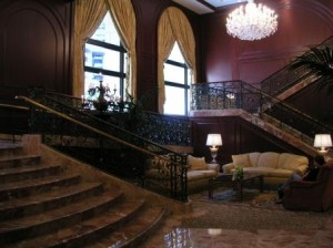 San Francisco Omni Hotel lobby