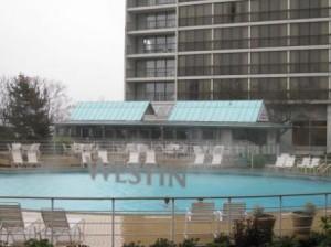 Vancouver Westin Bayshore hotel outdoor pool