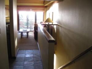 Hyatt Highlands Inn Townhouse Room 505 entry way