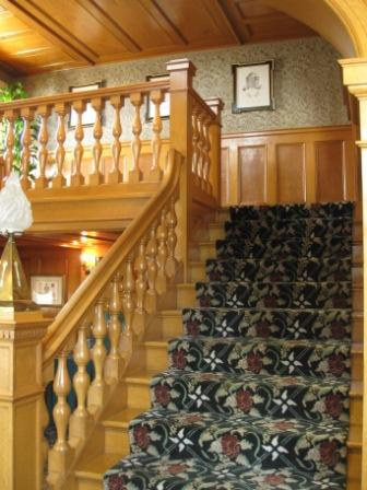Hayes Mansion Stairway