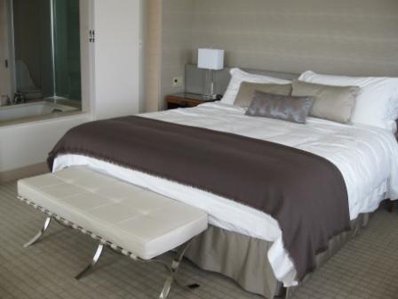 St. Regis San Francisco Hotel bed