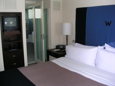 W Sydney loft bedroom