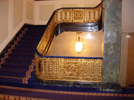 Westin St. Francis stairway