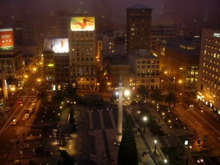 Westin St. Francis Union Square view