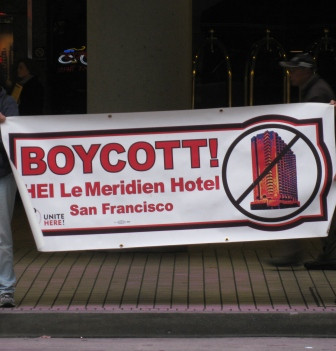 Le Meridien San Francisco Boycott Labor Action